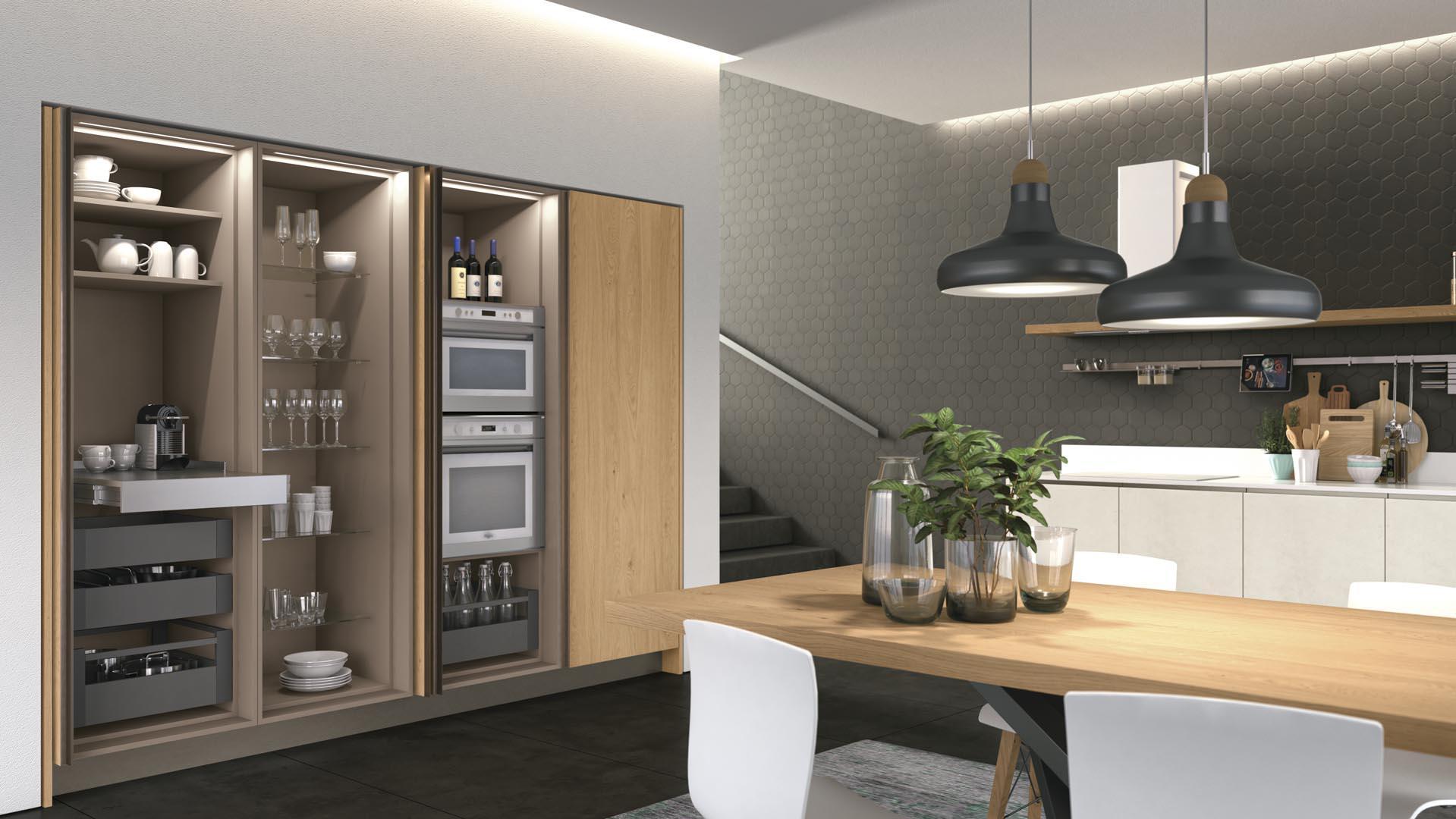 cucina moderna lube clover neck nardò e lecce