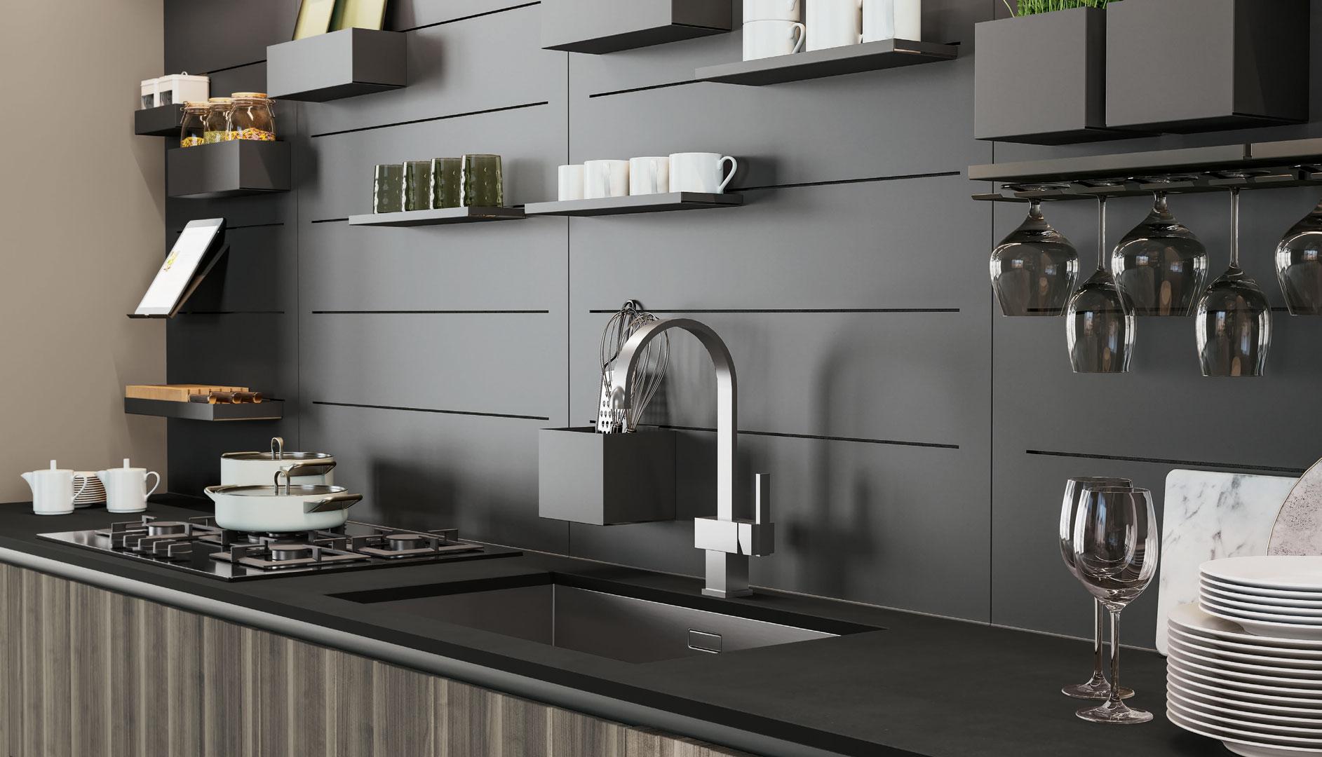 cucina moderna lube round nardò e lecce