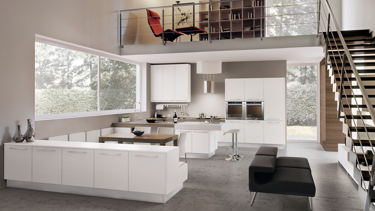 cucine total withe