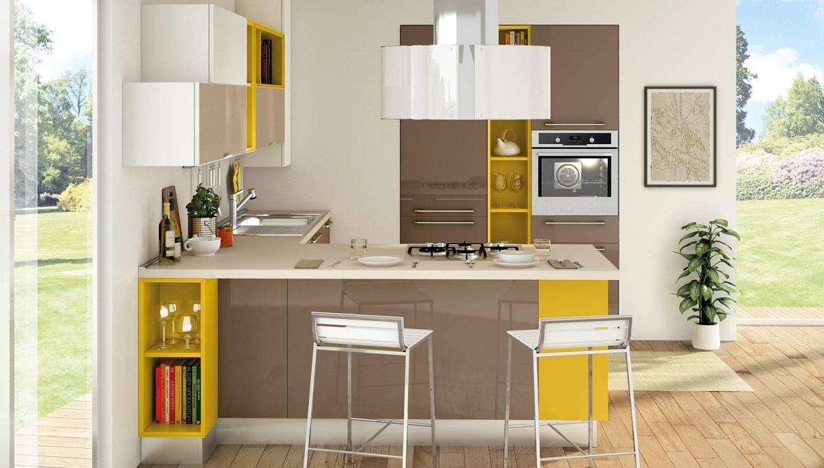 progettazione cucina piccola Lecce