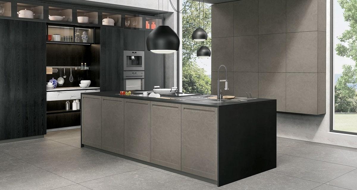 cucina lube grigio