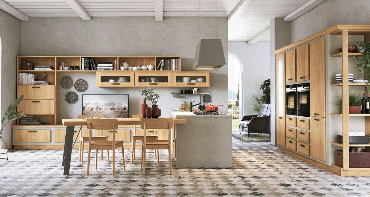 cucina moderna legno lecce salento